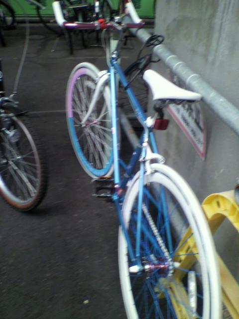 自転車届きました!