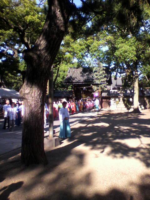住吉大社夏祭りゲキアツ2