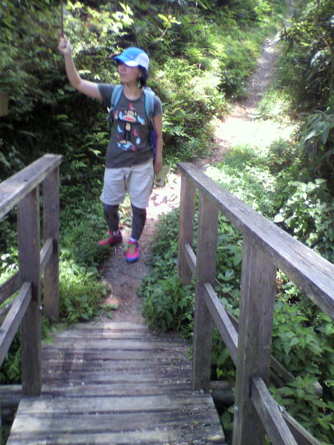 高野山にトレッキング