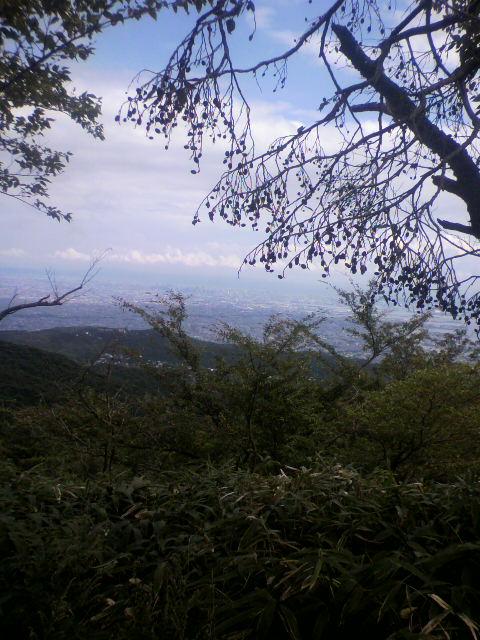 六甲山からの有馬温泉最高