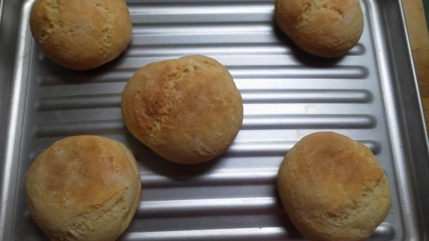 もちもちチーズパン作ってみた!
