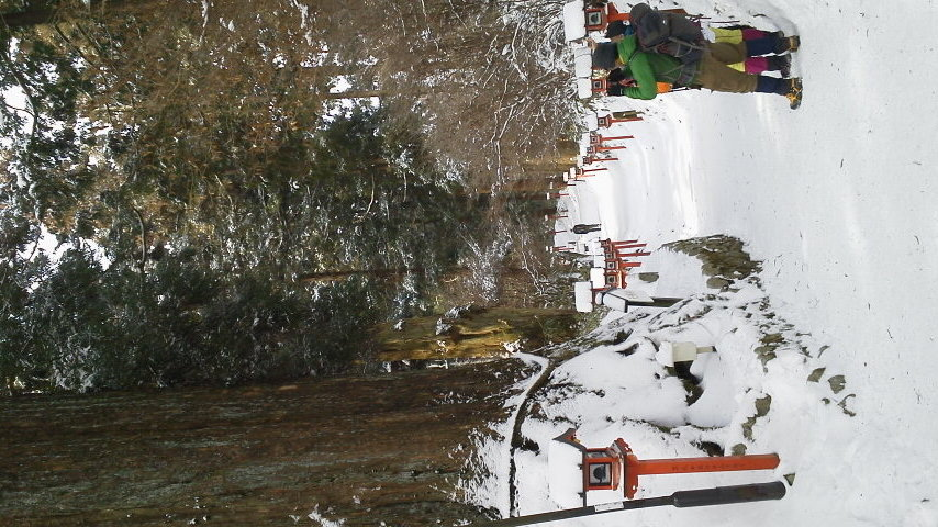 雪山の金剛山葛城神社