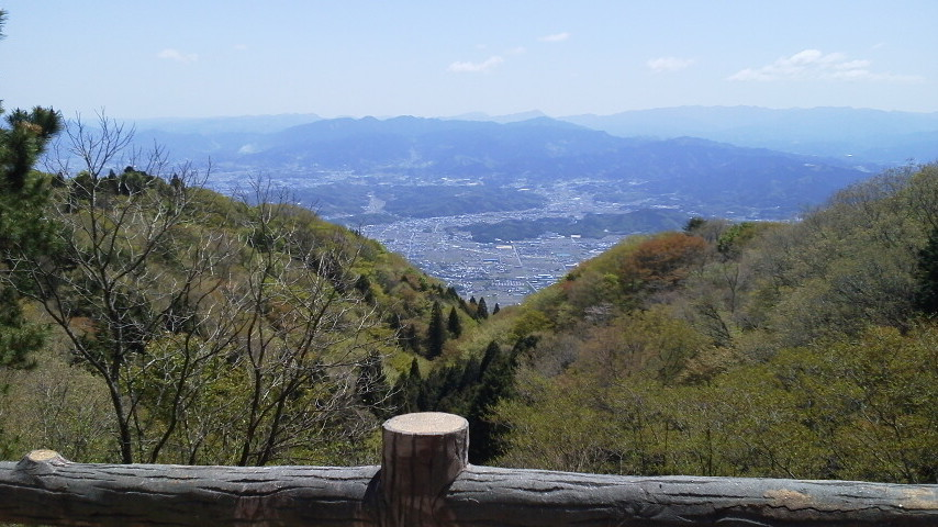 葛城山登山、最高の晴天!