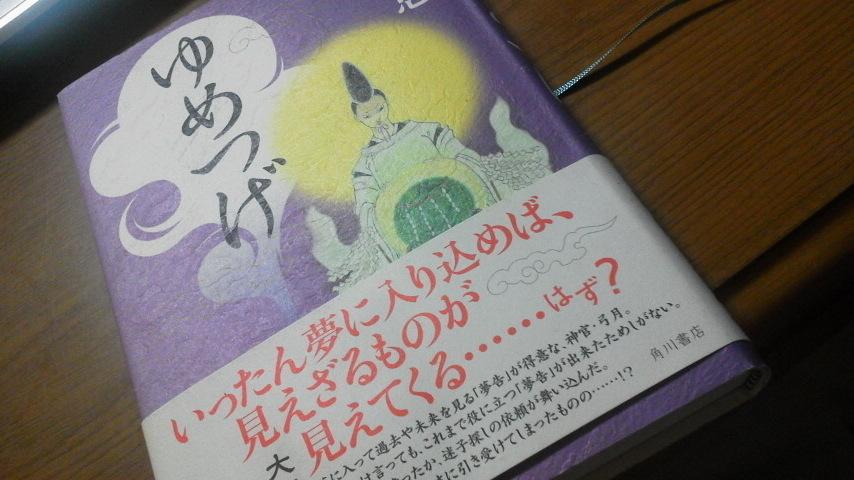 ゆめつげ畠中恵さん、やはりおもしろい