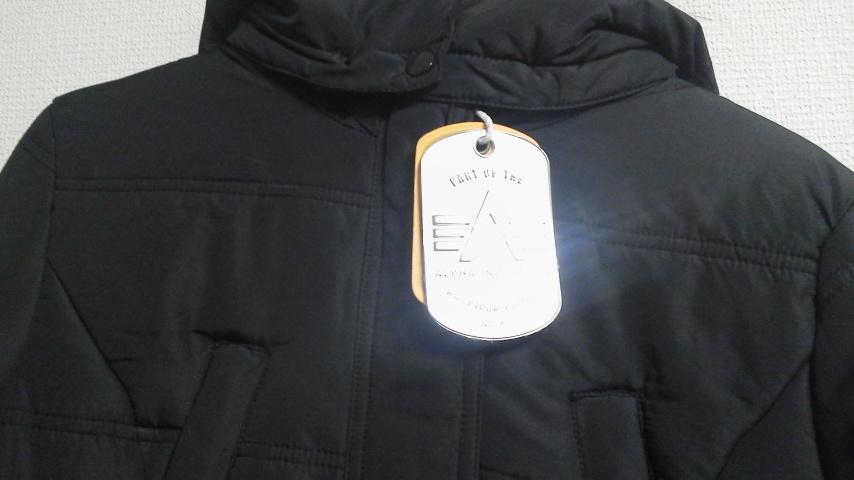 アルファのジャケットゲット
